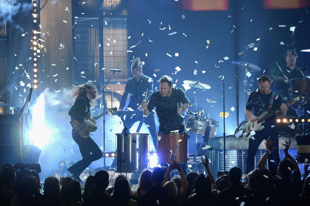 Imagine Dragons performs onstage during the 2014 Billboard Music Awards at the MGM Grand Garden Arena on May 18, 2014 in Las Vegas, Nevada.