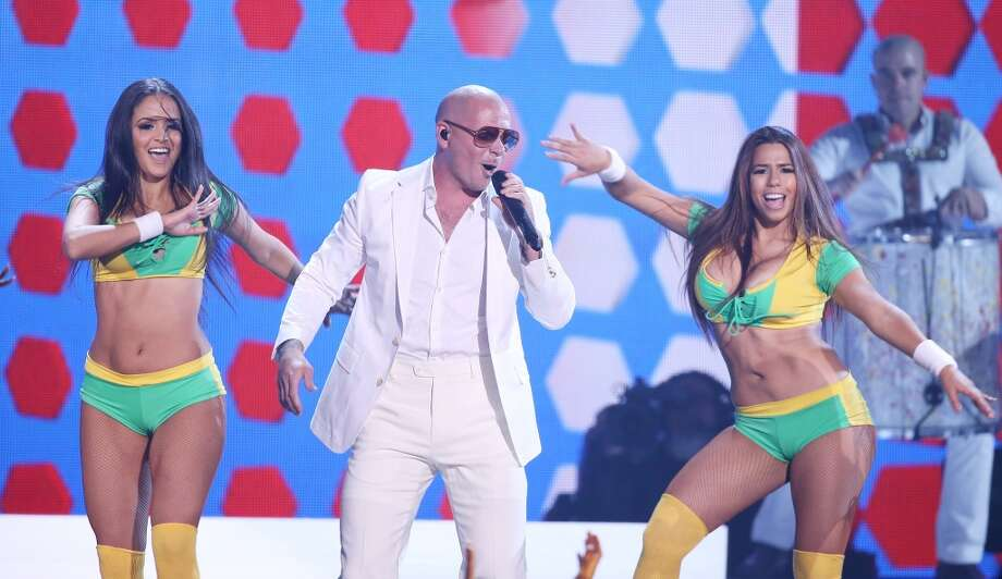 Pitbull performs onstage during the 2014 Billboard Music Awards held at MGM Grand Garden Arena on May 18, 2014 in Las Vegas, Nevada. Photo: Michael Tran, FilmMagic