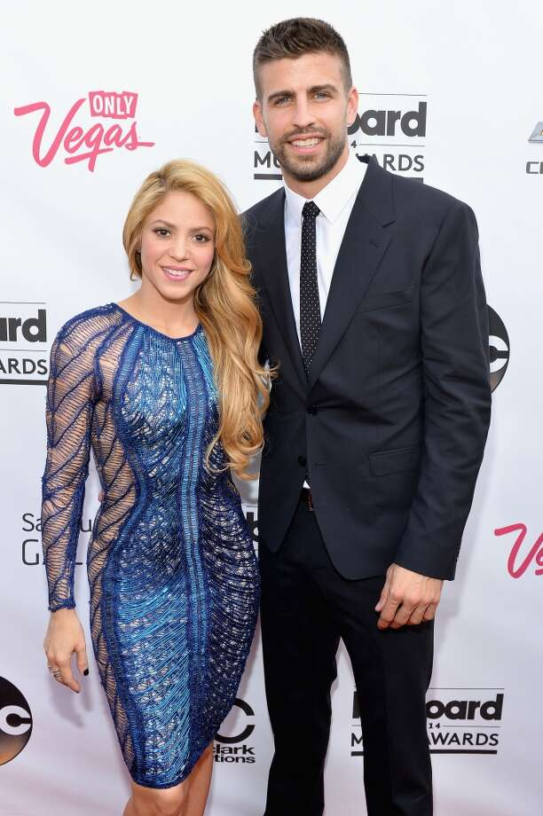 Singer-songwriter Shakira (L) and  professional soccer player Gerard Pique attend the 2014 Billboard Music Awards at the MGM Grand Garden Arena on May 18, 2014 in Las Vegas, Nevada. Photo: Bryan Steffy/Billboard Awards 20, Getty Images For DCP