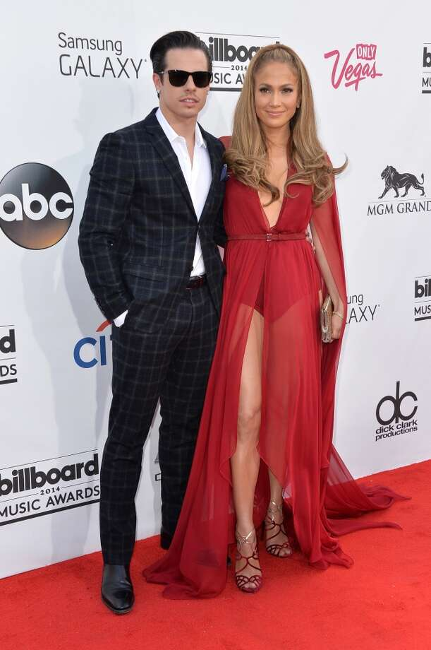Recording artist Jennifer Lopez (R) and choreographer Casper Smart attend the 2014 Billboard Music Awards at the MGM Grand Garden Arena on May 18, 2014 in Las Vegas, Nevada. Photo: Frazer Harrison, Getty Images