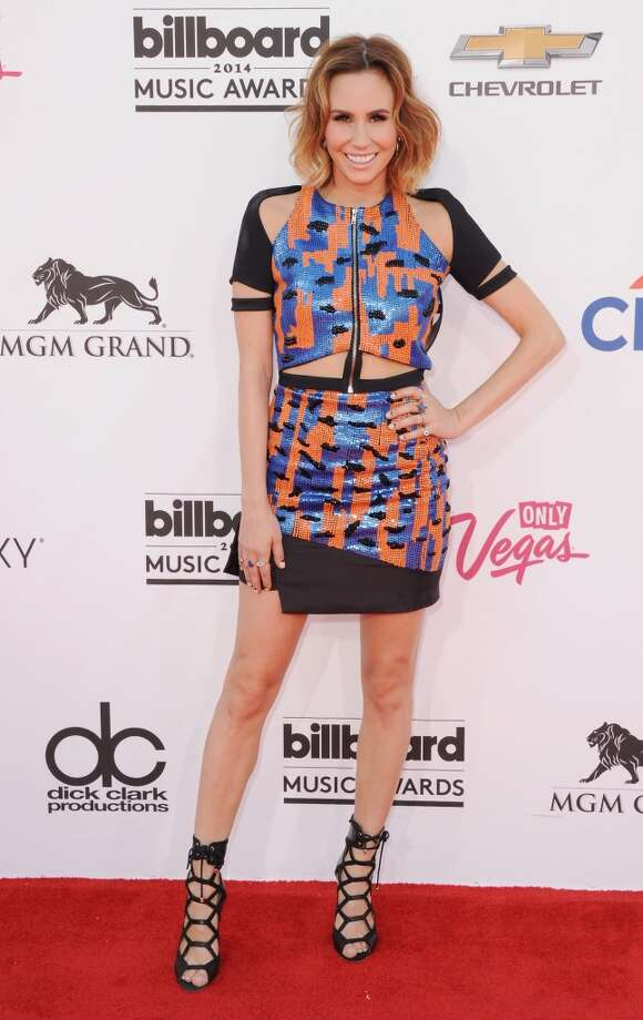 Keltie Knight arrives at the 2014 Billboard Music Awards at the MGM Grand Hotel and Casino on May 18, 2014 in Las Vegas, Nevada. Photo: Jon Kopaloff, FilmMagic