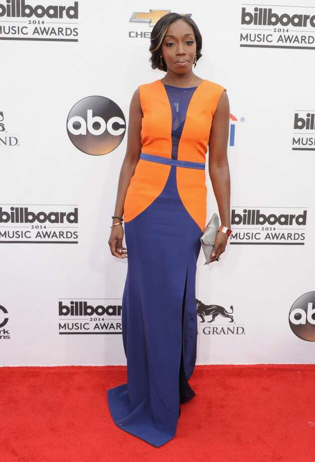 Singer Estelle arrives at the 2014 Billboard Music Awards at the MGM Grand Hotel and Casino on May 18, 2014 in Las Vegas, Nevada. Photo: Jon Kopaloff, FilmMagic