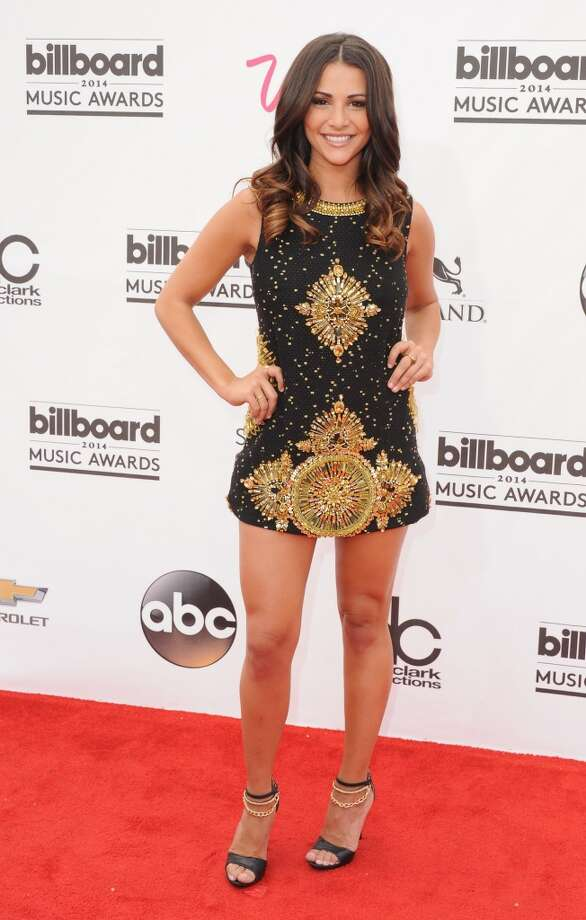 Andi Dorfman arrives at the 2014 Billboard Music Awards at the MGM Grand Hotel and Casino on May 18, 2014 in Las Vegas, Nevada. Photo: Jon Kopaloff, FilmMagic