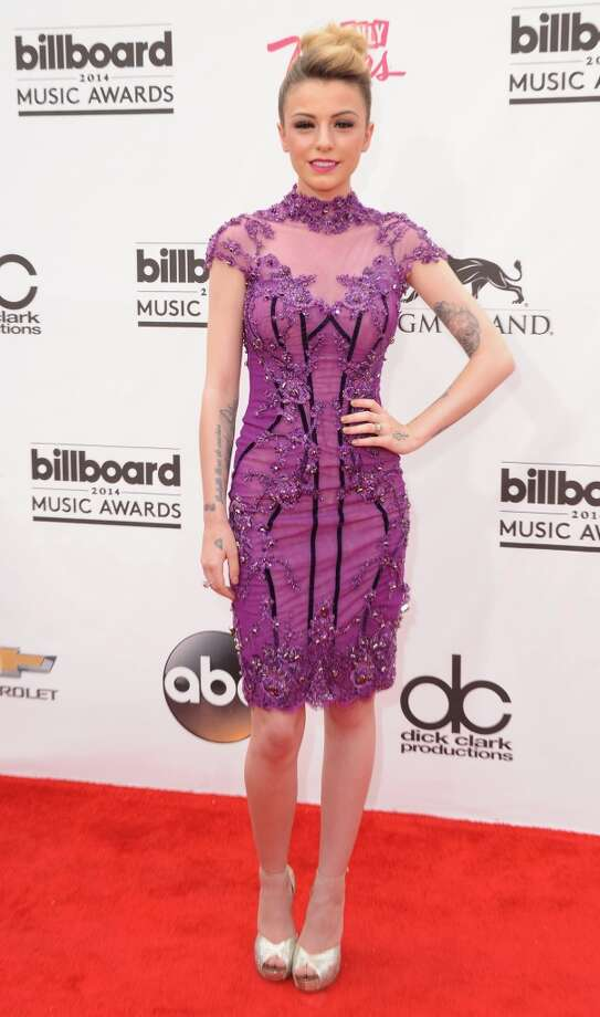 Singer Cher Lloyd arrives at the 2014 Billboard Music Awards at the MGM Grand Hotel and Casino on May 18, 2014 in Las Vegas, Nevada. Photo: Jon Kopaloff, FilmMagic