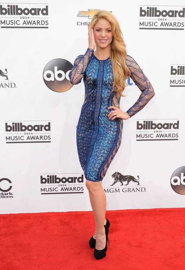 Singer Shakira arrives at the 2014 Billboard Music Awards at the MGM Grand Hotel and Casino on May 18, 2014 in Las Vegas, Nevada. Photo: Jon Kopaloff, FilmMagic
