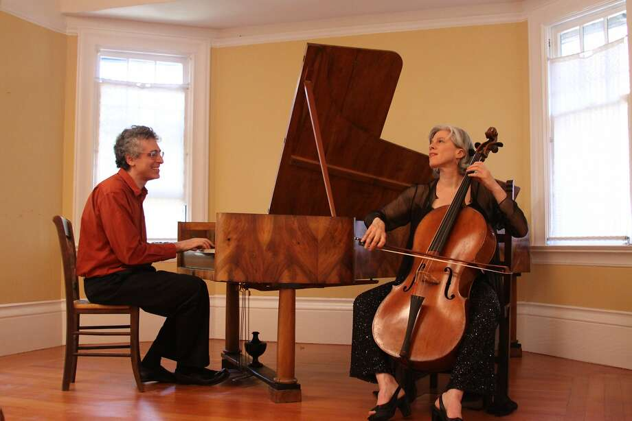 Fortepianist Eric Zivian (l.) and cellist Tanya Tomkins Photo: David Williams