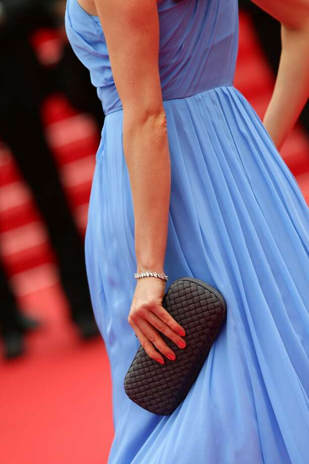 """Victoria Bonya attends the """"Foxcatcher"""" premiere during the 67th Annual Cannes Film Festival on May 19, 2014 in Cannes, France.  Photo: Vittorio Zunino Celotto, Getty Images"""