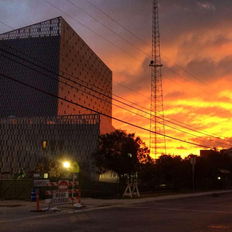 The Tobin Center for the Performing Arts recently at dusk. Photo: Benjamin Olivo, MysA.com
