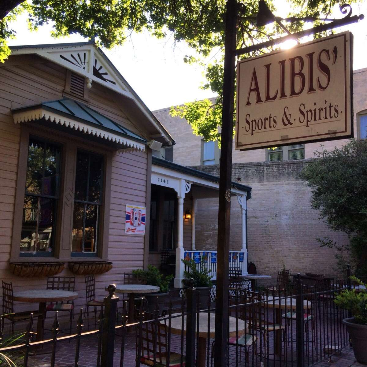 Alibi's Sports and Spirits  1141 E. Commerce St.  04/02/2018
