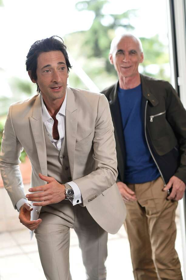 "Actor Adrien Brody and director Lee Tamahori attend a photocall to announce the new film ""Emperor"" during the 67th Annual Cannes Film Festival on May 19, 2014 in Cannes, France.  Photo: Michael Buckner, Getty Images"
