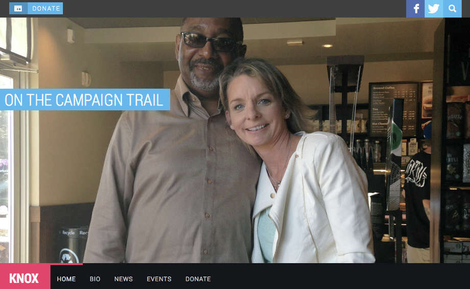 A screen grab of Kathleen Knox's campaign website. Knox, 49,  has withdrawn from the race for Alameda County's next auditor-controller after being charged with six felony counts for allegedly lying on campaign papers about where she lives. Photo: Knox4auditorcontroller.com
