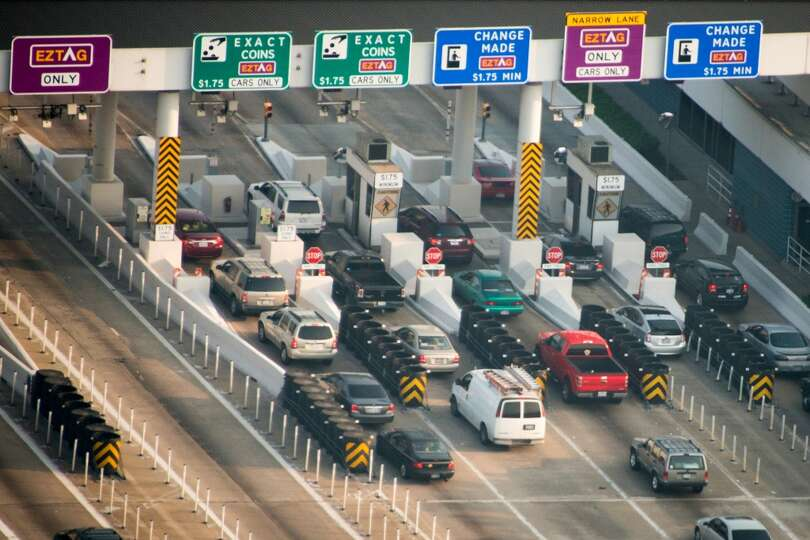 Toll plaza on Beltway 8 near Highway 290 on Friday, May 17, 2013, in Houston. ( Smiley N. Pool / Hou