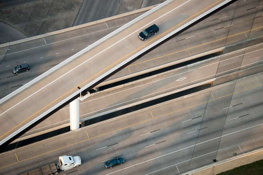 Texas is a drivers' state, and for many the most recognizable images involve stretches of highway that wind their way through and around the Lone Star State's metropolises. See if you can identify these areas based on their road maps alone. Photo: Smiley N. Pool, Houston Chronicle