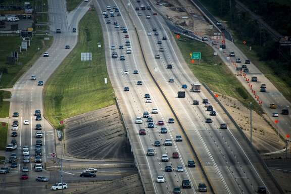 Traffic on US 290 near Cypress North Houston on Thursday, May 23, 2013, in Houston. ( Smiley N. Pool / Houston Chronicle )