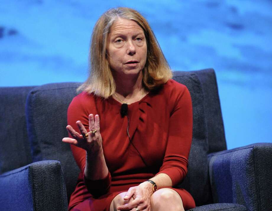 "Jill Abramson was suddenly dismissed as executive editor of the New York Times for being too ""brusque. "" Photo: Getty Images For WIRED / 2013 Getty Images"