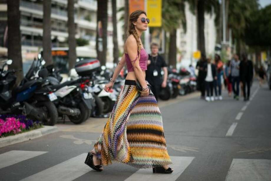 A woman on the streets of Cannes during the 67th Annual Cannes Film Festival on May 16, 2014 in Cannes, France. Photo: Timur Emek, French Select Via Getty Images