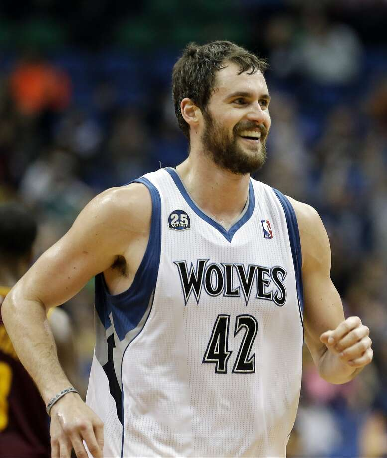 Kevin Love reportedly wants out of Minnesota. Photo: Jim Mone, Associated Press
