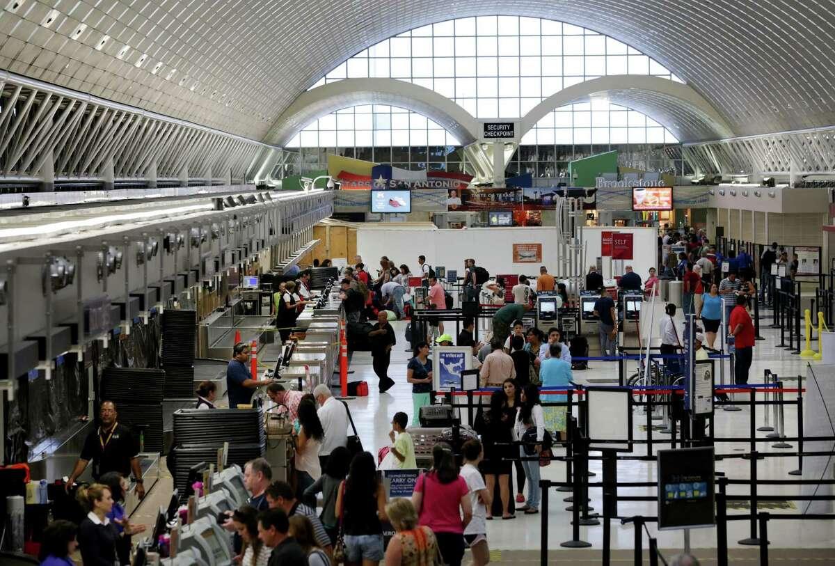 San Antonio International Airport: Miles each way: 9.2Minutes each way: 15Sedan gas and car cost: $2,199.13SUV/truck/van gas and car cost: $2,754.49