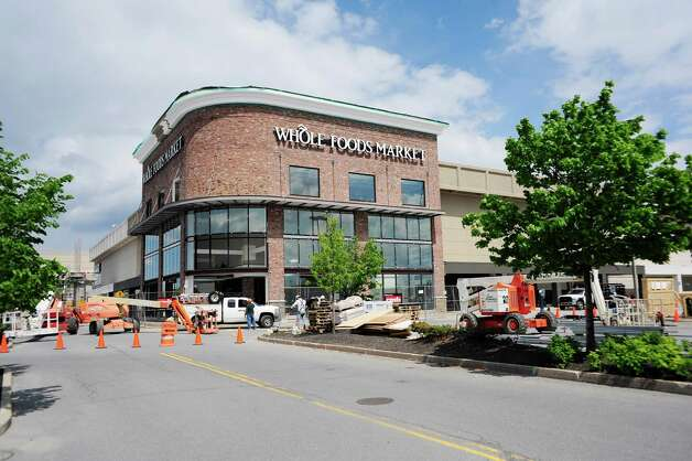 Construction work continues on the Whole Foods Market at Colonie Center Mall on Monday, May 19, 2014, in Albany, N.Y.  (Paul Buckowski / Times Union) Photo: Paul Buckowski / 00026947A