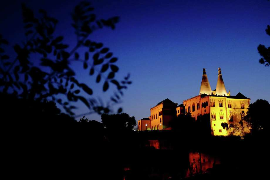 A nightscape of the National Palace of Sintra, photographed in May 2014, in Sintra, Portugal. Photo: JORDAN STEAD / JORDAN STEAD