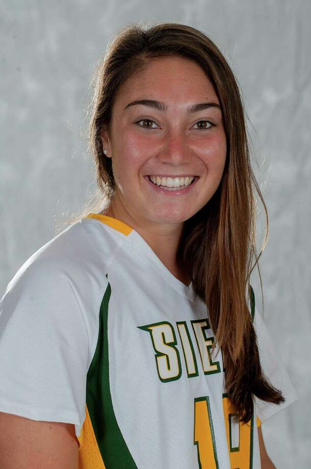 Julia Sirianni, a Saratoga High graduate, was voted to the All-MAAC second team in women's lacrosse for Siena. (Siena sports information)