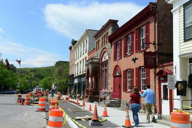 Main St. in Cooperstown across from the Baseball Hall of Fame Monday, May 19, 2014, in Cooperstown, N.Y. (Will Waldron/Times Union) Photo: WW