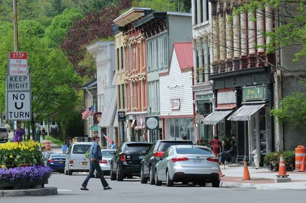 Main St. at Pioneer St. in Cooperstown Monday, May 19, 2014, in Cooperstown, N.Y. (Will Waldron/Times Union) Photo: WW