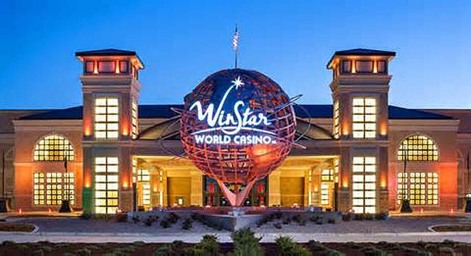 The WinStar World Casino and Resort just north of the Dallas.