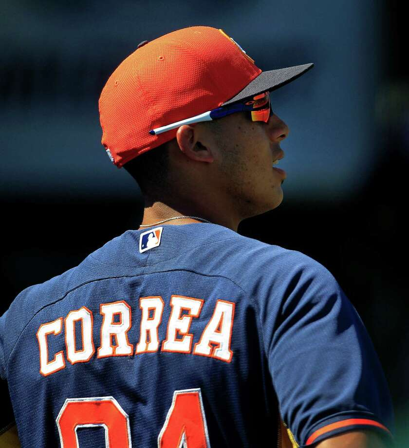 Carlos Correa is so advanced at age 19 that his Class A manager says he has been ready for a promotion to AA for some time. Photo: Karen Warren, Staff / © 2013 Houston Chronicle