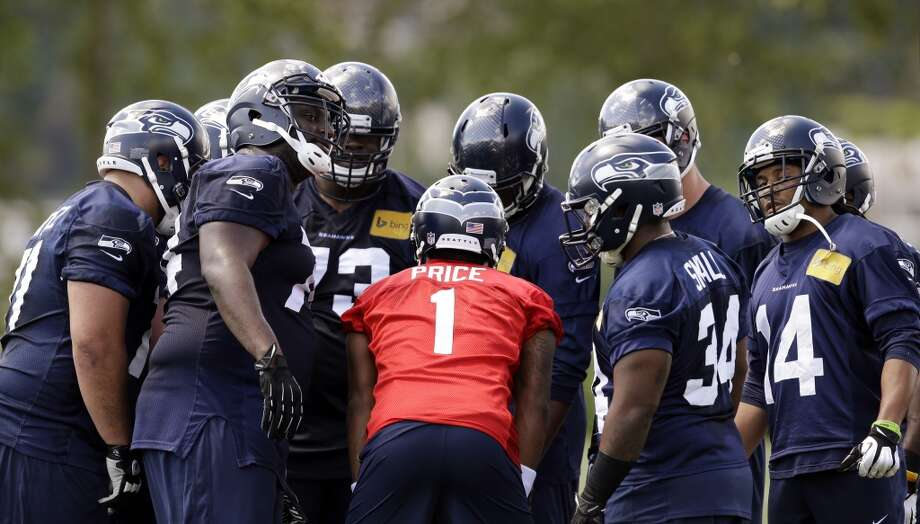 """ESPNESPN's Terry Blount gave his assessment of 14 hopefuls who attended Seahawks rookie minicamp over the weekend, including his choice for the most promising of the group, wide receiver Kevin Norwood. It's worth reading Blount's entire article, but we couldn't help from smiling about this tidbit: """"Seahawks linebacker Bruce Irvin did a Lake Washington ride-by showing on his jet ski Friday during practice, just to say hello."""" Photo: Elaine Thompson, Associated Press"""