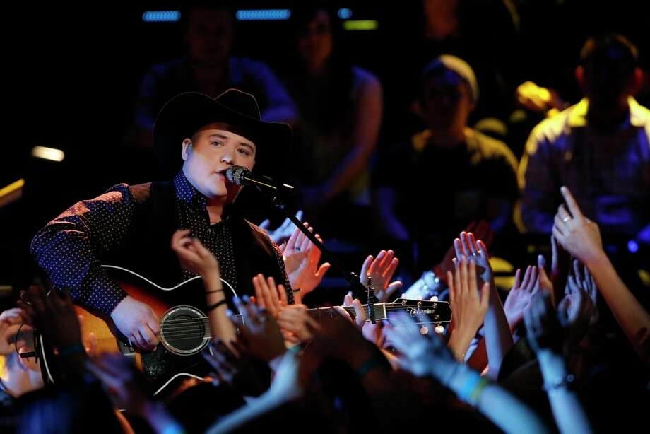 "THE VOICE -- ""Live Show"" Episode 621A -- Pictured: Jake Worthington -- (Photo by: Trae Patton/NBC) Photo: NBC, Trae Patton/NBC / 2014 NBCUniversal Media, LLC"