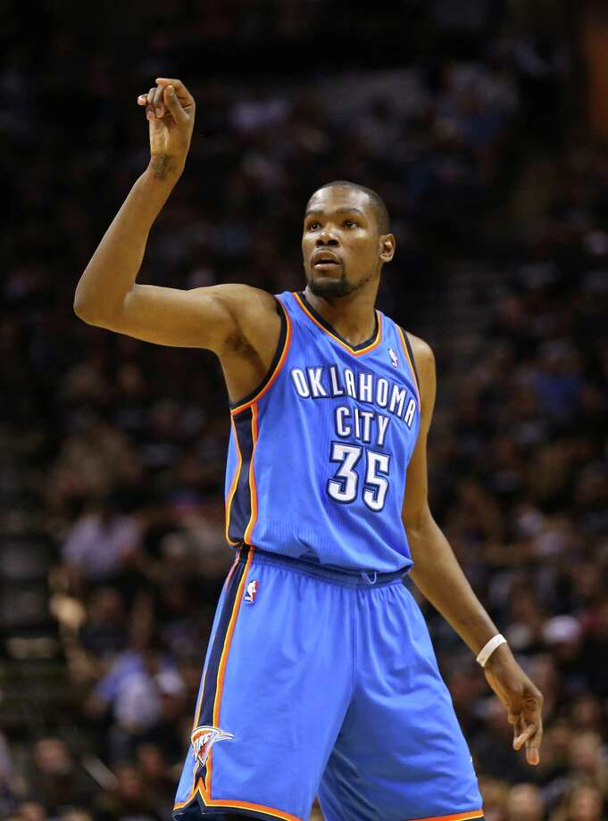 No. 20 -- Kevin Durant, Oklahoma City Thunder: $31.9 million Photo: Ronald Martinez, Getty Images / 2014 Getty Images