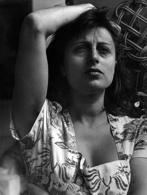 Anna Magnani -- not just an actress, but a Roman actress, unforgettable in ROME, OPEN CITY.  Also remarkable in MAMMA ROMA by Pasolini. Photo: Mondadori, Mondadori Via Getty Images / Mondadori