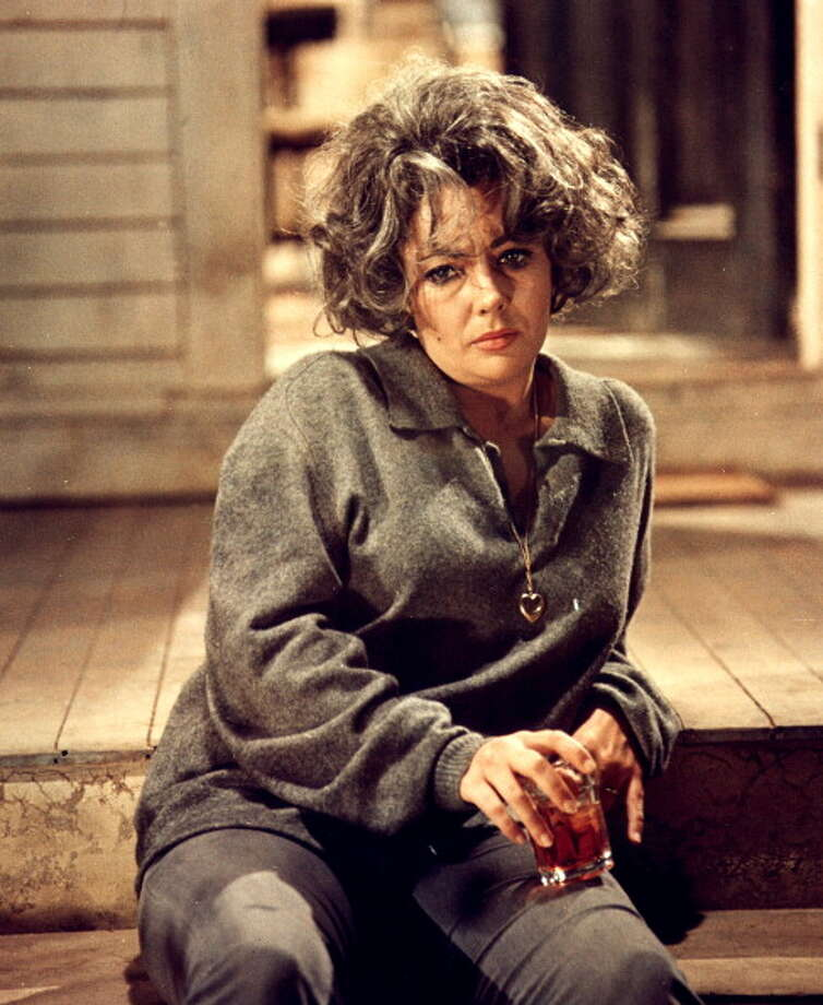 Elizabeth Taylor in the Film 'Who's Afraid Of Virginia Woolf' directed by Mike Nichols in 1966.  Her finest two hours on screen -- a complete departure from her screen image to that point.  She was only 34, playing a woman in her early 50s. Photo: API, Gamma-Rapho Via Getty Images / 2011 Gamma-Rapho