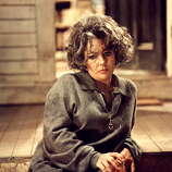 Elizabeth Taylor in the Film 'Who's Afraid Of Virginia Woolf' directed by Mike Nichols in 1966.  Her finest two hours on screen -- a complete departure from her screen image to that point.  She was only 34, playing a woman in her early 50s.