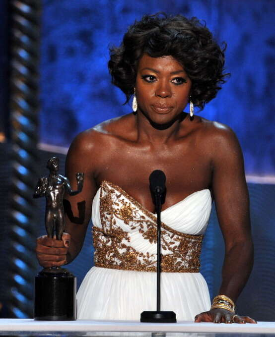 Viola Davis won the SAG award for THE HELP and really should have gone all the way.  A lovely, complicated and thoughtful performance. Photo: Kevin Winter, Getty Images / 2012 Getty Images