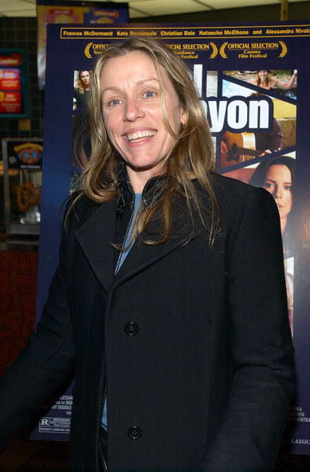 "Frances McDormand during ""Laurel Canyon"" -- my favorite of her films.  But FARGO is wonderful, too. Photo: Dimitrios Kambouris, WireImage / Staff Photographer"