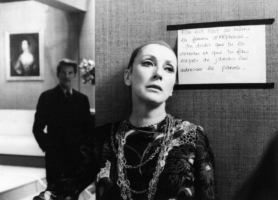 Italian actress Valentina Cortese  in the film Day for night.  Wonderful performance that mixes the comical and poignant. Photo: Mondadori, Mondadori Via Getty Images / Mondadori Portfolio
