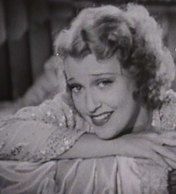 Jeanette MacDonald in LOVE ME TONIGHT.  And she meant it.  MacDonald is one of those actresses damaged by the Production Code.  See her in everything made before 1934.
