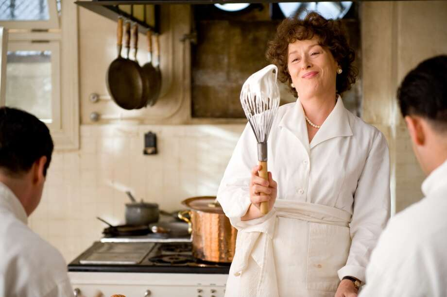 """Meryl Streep as """"Julia Child"""" in JULIE & JULIA.  But then, she's good in a lot of movies, isn't she? Photo: Columbia Pictures"""