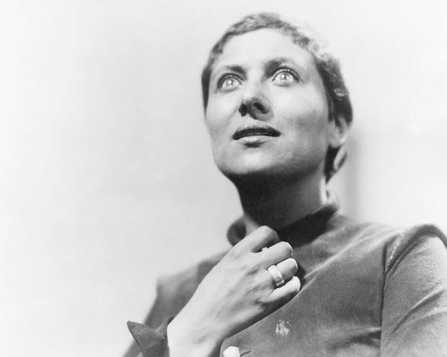 Maria Falconetti in THE PASSION OF JOAN OF ARC.  If you've seen the film, you know . . . But if you haven't, do see it.  It's not austere, or boring.  It is not medicine that's hard to get down but good for you. It's riveting cinema.
