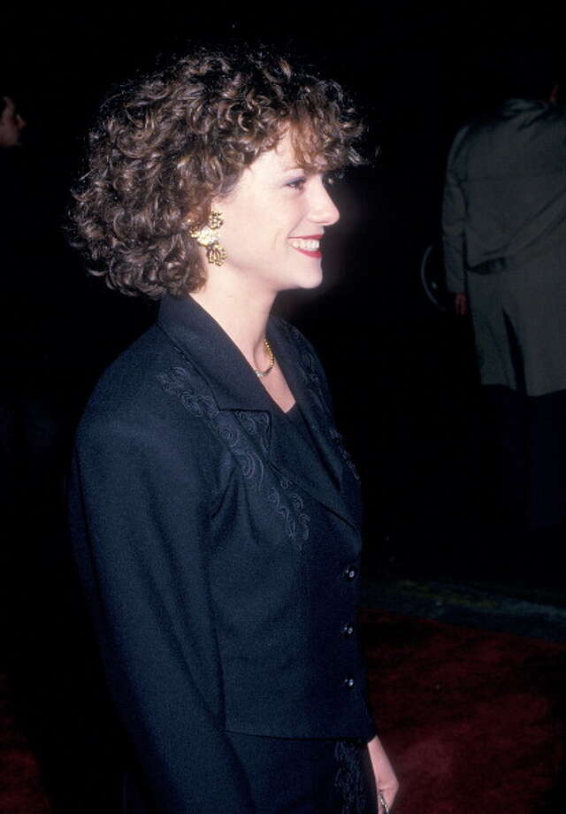 "Holly Hunter attends the ""Broadcast News"" New York City Premiere on December 13, 1987 at the Coronet Theatre in New York City.  A vibrant portrait of intense drive and uncontainable intelligence. Photo: Ron Galella, WireImage / 1987 Ron Galella, Ltd."