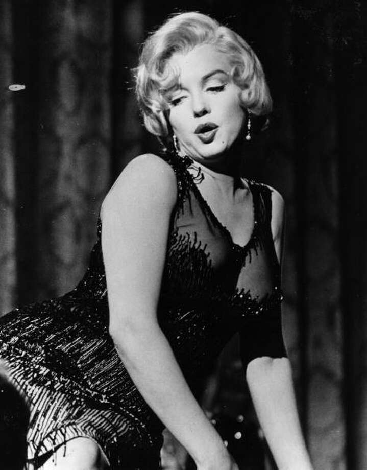 Marilyn Monroe in 'Some Like It Hot' directed by Billy Wilder.  I saw this movie on TV when I was about four and thought she was the most beautiful thing I'd ever seen. Photo: Keystone Features, Getty Images / Moviepix