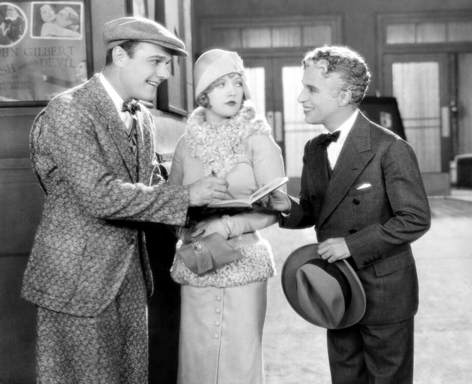 "Marion Davies in the very funny showbiz comedy SHOW PEOPLE.  In this scene, she's disdainful of this ""little guy"" who keeps coming over to bother her when she's trying to have a conversation.  When she finds out a minute later that she just blew off Charlie Chaplin, she almost faints."