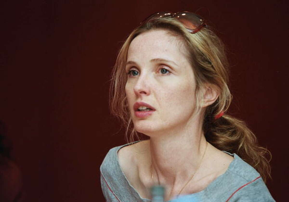 Julie Delpy, around the time of BEFORE SUNSET (2004), which was an especially strong showcase for her intelligence and charm. Of course, she's terrific in all three BEFORE movies, but don't miss her in TWO DAYS IN MANHATTAN, which she wrote and directed.