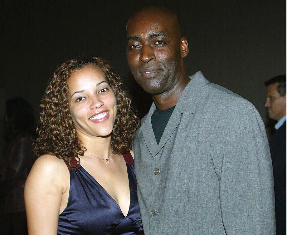 "FILE — April and Michael Jace attend a screening of ""The Shield"" in 2004. Photo: Frederick M. Brown, Getty Images / 2004 Getty Images"