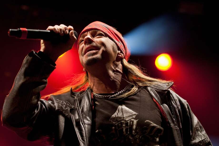 Bret Michaels performs at Stamford's Alive @ Five concert series on Thursday July 25. Here he is onstage during day one of the Super Bowl Village on Jan. 27, 2012 in Indianapolis, Indiana. Photo: Joey Foley, WireImage