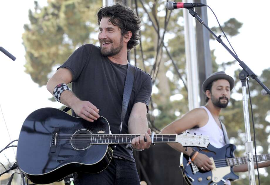 Matt Nathanson performs at Stamford's Alive @ Five concert series on Thursday, Aug. 1. Here he is on stage during 97.3 Alice Now and Zen in Sharon Meadow in Golden Gate Park in San Francisco on Sept. 30, 2012. Photo: Tim Mosenfelder, Getty Images