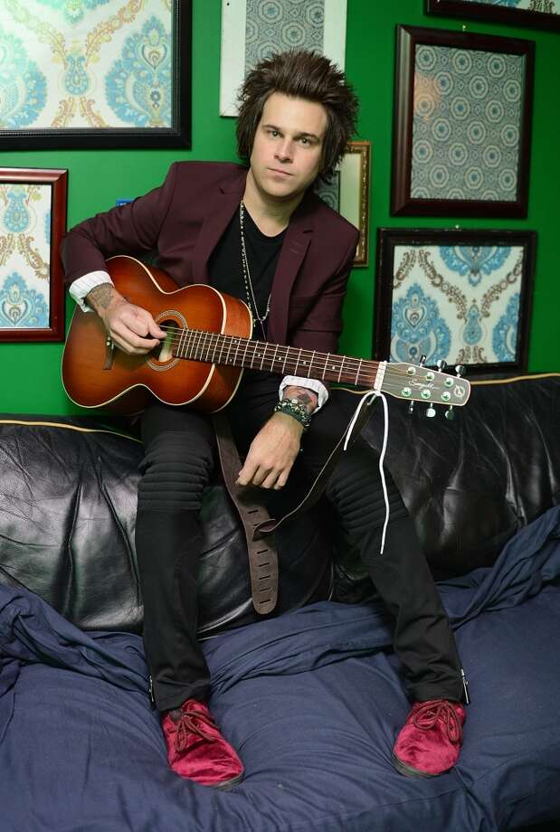 Ryan Cabrera performs at Stamford's Alive @ Five concert series on Thursday, July 11. Here he is backstage at the Gramercy Theatre in New York City on Jan. 4, 2013. Photo: Andrew H. Walker, Getty Images