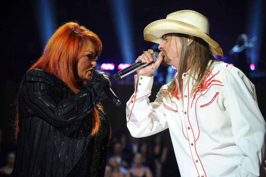 Wynonna & The Big Noise perform at Stamford's Alive @ Five concert series on Thursday, July 18. Here she is on stage with Kid  Rock at the 2011 CMT Music Awards at the Bridgestone Arena in Nashville, Tenn. on June 8, 2011. Photo: Jeff Kravitz, FilmMagic
